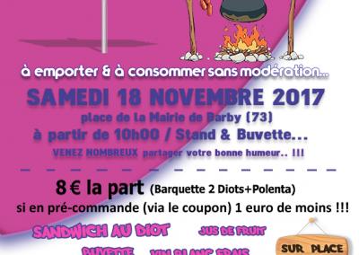 Affiche Diots-Polenta