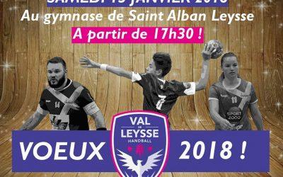 VOEUX DU VAL DE LEYSSE HB : Samedi 13 Janvier