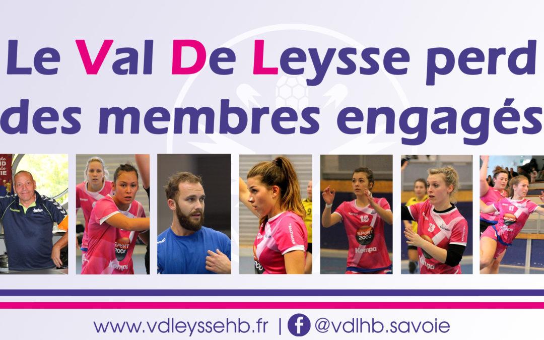Le Val de Leysse perd des membres engagés