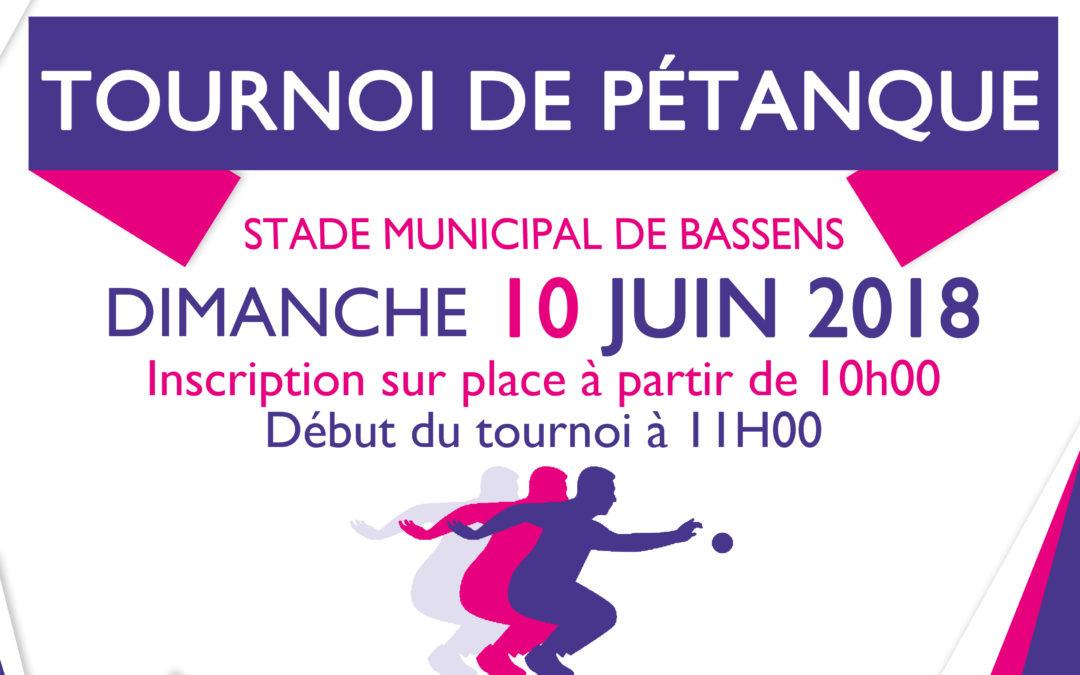 11ème concours de Pétanque : DIMANCHE 10 JUIN 2018